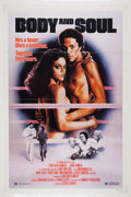 """Boxing Collectibles:Memorabilia, 1981 """"Body and Soul"""" Movie Poster. ..."""