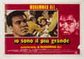 "Boxing Collectibles:Memorabilia, 1977 ""The Greatest"" Movie Poster (Italy)...."
