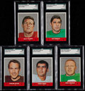 Football Cards:Sets, 1968 Topps Stand Up Complete Set (22). ...