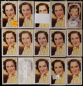 "Non-Sport Cards:Sets, 1939 Gallaher ""My Favourite Part"" Complete Set Collection (15). ..."