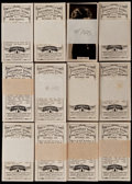 "Non-Sport Cards:Sets, 1929 Carreras ""Paramount Stars"" Complete Set Collection (12). ..."