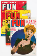 Magazines:Humor, Army and Navy Fun Parade File Copy Long Box Group (Fun Parade,1950s) Condition: Average VF....