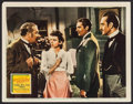 "Movie Posters:Mystery, The Adventures of Sherlock Holmes (20th Century Fox, 1939). LobbyCard (11"" X 14""). Mystery.. ..."