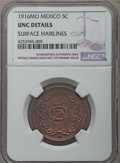 Mexico, Mexico: Republic 5 Centavos 1916-Mo UNC Details (Surface Hairlines)NGC,...