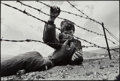 Photographs, Gary Fabiano (American, 20th Century). Refugee Camp, Kosovo/Albania Border, 1999. Gelatin silver. 11-3/4 x 17-1/2 inches...