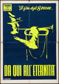 "Movie Posters:Academy Award Winners, From Here to Eternity (Columbia CEIAD, 1954). Italian Foglio (27.5""X 39.5""). Academy Award Winners.. ..."