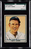 Baseball Cards:Singles (1940-1949), 1941 Play Ball Lefty Gomez #72 SGC Authentic....