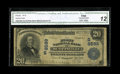 National Bank Notes:Kentucky, Scottsville, KY - $20 1902 Plain Back Fr. 652 The First NB Ch. #(S)8599. The census includes just four notes from this ...