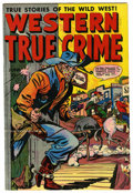 """Golden Age (1938-1955):Western, Western True Crime #6 Davis Crippen (""""D"""" Copy) pedigree (Fox Features Syndicate, 1949) Condition: VF+. Overstreet 2006 VF 8...."""