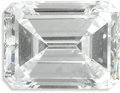 Estate Jewelry:Other , Unmounted Diamond. The emerald-cut diamond measures 7.25 x 5.40 x 3.46 mm and weighs 1.25 carats....
