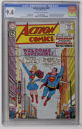 Silver Age (1956-1969):Superhero, Action Comics #285 (DC, 1962) CGC NM 9.4 Off-white to whitepages....