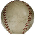 Autographs:Baseballs, 1952 New York Yankees World Champion Team Signed Baseball. Highlydesirable New York Yankees team orb comes from a fine 195...
