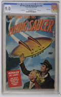 Golden Age (1938-1955):Science Fiction, Vic Torry and His Flying Saucer #nn Crowley Copy pedigree (Fawcett,1950) CGC VF/NM 9.0 Cream to off-white pages. This pedig...