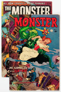 Golden Age (1938-1955):Horror, Monster #1 and 2 Group (Fiction House, 1953).... (Total: 2 Comic Books)