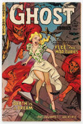Golden Age (1938-1955):Horror, Ghost #4 (Fiction House, 1952) Condition: FN....