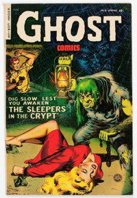 Ghost #6 (Fiction House, 1953) Condition: FN