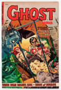Golden Age (1938-1955):Horror, Ghost #7 (Fiction House, 1953) Condition: VG/FN....