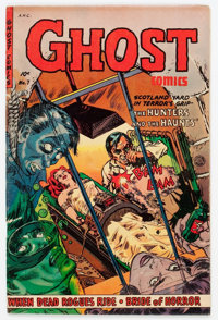 Ghost #7 (Fiction House, 1953) Condition: VG/FN