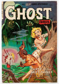 Golden Age (1938-1955):Horror, Ghost #8 (Fiction House, 1953) Condition: VG/FN....