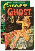 Golden Age (1938-1955):Horror, Ghost #2 and 10 Group (Fiction House, 1951-54) Condition: ApparentVG.... (Total: 2 Comic Books)