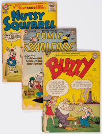 Comic Books - Assorted Golden Age Humor Comics Group of 16 (Various Publishers, 1940s-50s) Condition: PR.... (Total: 16...