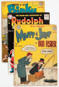 Golden Age (1938-1955):Humor, Comic Books - Assorted Golden Age Humor Comics Group of 16 (Various Publishers, 1940s-50s) Condition: Average VG.... (Total: 16 Comic Books)