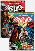 Bronze Age (1970-1979):Horror, Tomb of Dracula #10 and 13 Group (Marvel, 1972-73).... (Total: 2Comic Books)