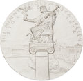 Miscellaneous Collectibles:General, 1912 Stockholm Summer Olympics Pewter Participation Medal....