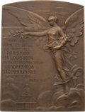 Miscellaneous Collectibles:General, 1916 International Olympic Committee Twentieth Anniversary BronzePlaque....