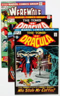 Bronze Age (1970-1979):Horror, Tomb of Dracula Group of 66 (Marvel, 1972-79) Condition: AverageVF/NM.... (Total: 66 Comic Books)