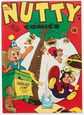 Golden Age (1938-1955):Funny Animal, Nutty Comics #4 (Harvey, 1946) Condition: NM-....