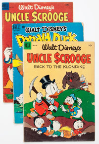 Dell Golden to Silver Age Walt Disney Duck Related Group of 22 (Dell, 1950s-60s) Condition: Average GD.... (Total: 22 Co...