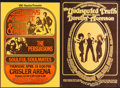 """Movie Posters:Musical, Gladys Knight and the Pips at the Crisler Arena & Other Lot (UAC-Daystar, 1974). Concert Window Cards (2) (14"""" X 20"""", 14"""" X ... (Total: 2 Items)"""