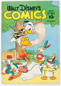 Golden Age (1938-1955):Cartoon Character, Walt Disney's Comics and Stories #24 (Dell, 1942) Condition: FN....