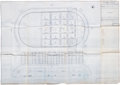 """Boxing Collectibles:Memorabilia, 1974 Rumble In The Jungle """"20th of May Stadium"""" Blueprints Lot of 12...."""