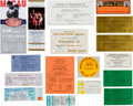 Boxing Collectibles:Autographs, 1975-99 Muhammad Ali Event Tickets Lot of 17....