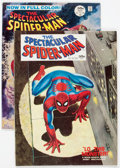 Magazines:Superhero, Spectacular Spider-Man #1 and 2 Group (Marvel, 1968) Condition:Average VG/FN.... (Total: 2 Comic Books)