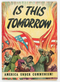 Is This Tomorrow #1 (Catechetical Guild, 1947) Condition: VG-