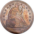 Patterns, 1864 $1 Dollar, Judd-397, Pollock-465, R.6, PR63 Red and Brown PCGS....