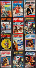 Movie Posters:James Bond, James Bond Foreign Comic Books & Other Lot (Various,1960s-1990s). Finnish Comic Books (20) & Argentinean ComicBooks (4) (M... (Total: 24 Items)