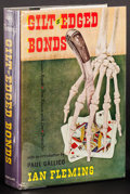 """Movie Posters:James Bond, Gilt-Edged Bonds by Ian Fleming (Macmillan, 1961). First Edition Hardcover Book (256 Pages, 5.75"""" X 8.5""""). James Bond.. ..."""