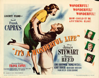 "It's a Wonderful Life (RKO, 1946). Half Sheet (22"" X 28"") Style B"