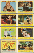 "Movie Posters:Comedy, Some Like It Hot (United Artists, 1959). Lobby Card Set of 8 (11"" X14"").. ... (Total: 8 Items)"