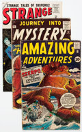 Silver Age (1956-1969):Adventure, Silver Age Adventure/Sci-Fi Related Group of 9 (DC/Marvel, 1950s-60s) Condition: Average GD/VG.... (Total: 8 Comic Books)