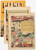 Golden Age (1938-1955):Miscellaneous, Golden Age Miscellaneous PR to FR and Coverless Comics Group of 23 (Various Publishers, 1940s-50s) Condition: Average PR to FR... (Total: 23 Comic Books)