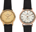 Timepieces:Wristwatch, Two Rolex 14k Gold Wristwatches. ... (Total: 2 Items)