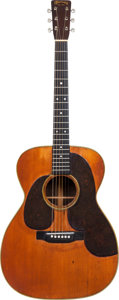 Musical Instruments:Acoustic Guitars, 1947 Martin 000-28 Natural Acoustic Guitar, Serial # 98257....