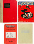 """Memorabilia:Comic-Related, """"How To"""" Cartoon Related Books Group of 9 (Various Publishers, 1922-44).... (Total: 9 Comic Books)"""