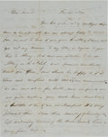 Autographs:Statesmen, Dorr Rebellion Collection, Rhode Island, 1841.... (Total: 3 Items)