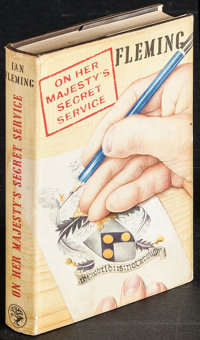 On Her Majesty's Secret Service by Ian Fleming (Jonathan Cape, 1963). First Edition British Hardcover Book (288 Pages, 5...